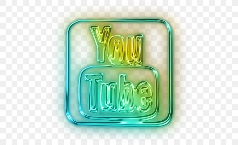 YouTube Logo Neon Lighting, PNG, 500x500px, Youtube, Google Logo, Green, Logo, Neon Download Free