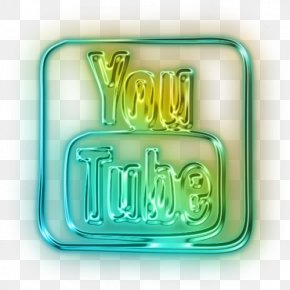 Youtube Logo Neon - YouTube Logo Neon Lighting PNG