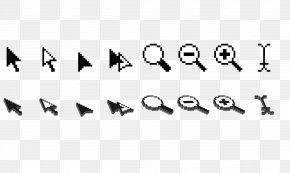 Mouse Cursor Vector Material - Computer Mouse Cursor Pointer Icon PNG