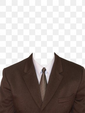 Brown Collar Suit - Suit Formal Wear Clothing Necktie PNG