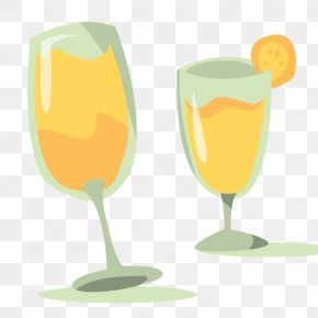 Vector Wedding Wine Glass - Wine Glass Wedding Clip Art PNG