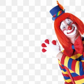 Cartoon Clown - Clown April Fools Day Poster PNG