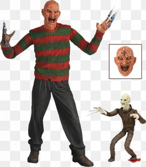 Action Figure - Freddy Krueger National Entertainment Collectibles Association A Nightmare On Elm Street Action & Toy Figures New Line Cinema PNG