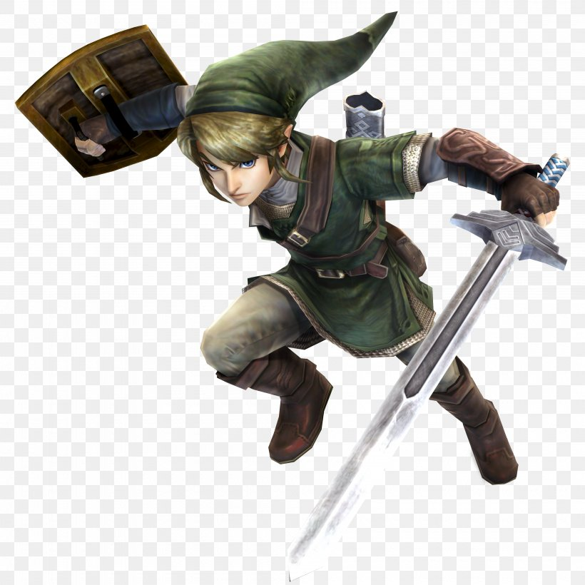 Hyrule Warriors The Legend Of Zelda: Twilight Princess HD The Legend Of Zelda: Skyward Sword The Legend Of Zelda: Link's Awakening The Legend Of Zelda: Breath Of The Wild, PNG, 4000x4000px, Hyrule Warriors, Action Figure, Character, Downloadable Content, Figurine Download Free