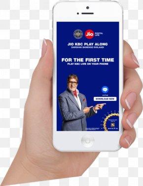 Season 9 BarbecueSmartphone - Smartphone Jio Mobile Phones Kaun Banega Crorepati PNG