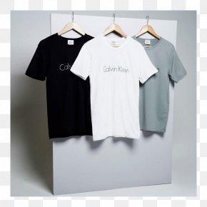 T-shirt - T-shirt Sleeve Calvin Klein Crew Neck PNG