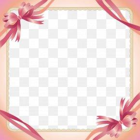 Pink Ribbon Border - Pink Ribbon Clip Art PNG