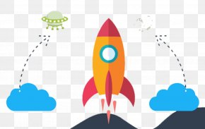Color Rocket - Rocket Icon PNG