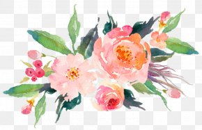 Painting - Watercolor: Flowers Watercolor Painting Watercolour Flowers Drawing PNG