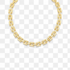 Gold Chain - Earring Jewellery Necklace Chain Gold PNG