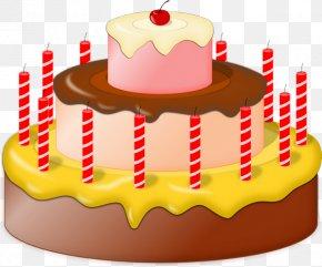 Chocolate Cake - Cupcake Tart Birthday Cake Clip Art PNG