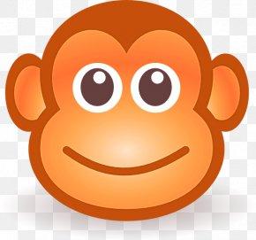 Monkey - Ape Cartoon Monkey Drawing Clip Art PNG