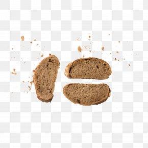Grey Bread - Bread Food Download PNG