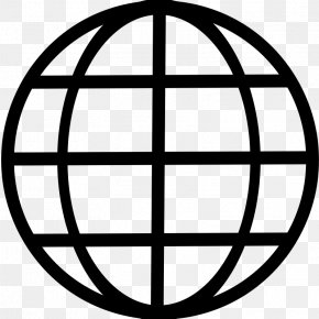 Black And White Earth - Globe Free Content Clip Art PNG