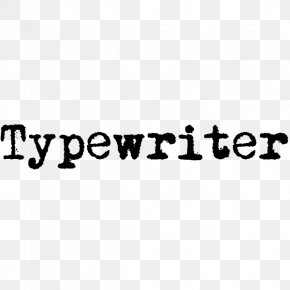 Typewriter - Old Typewriters Typography Open-source Unicode Typefaces Font PNG