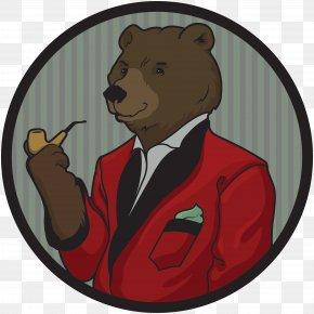 Brown Bear - Big Brown Bear Cannabis Shop Dispensary PNG