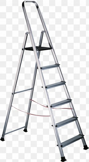Step Ladder - Attic Ladder Stairs PNG