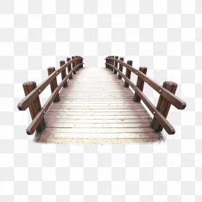 Bridge - Timber Bridge PNG