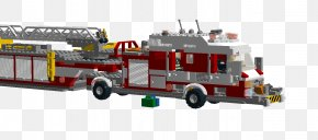 Lego Fire Truck - Fire Engine Fire Department Public Utility Motor Vehicle Cargo PNG