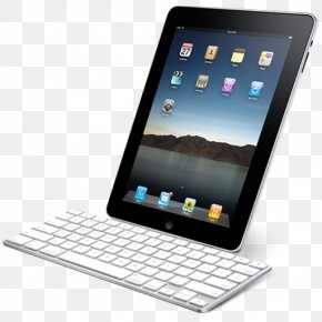 IPad With Keyboard - Laptop Electronic Device Gadget Multimedia PNG