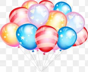 Vector Material Balloon - Balloon Birthday Gift Party Greeting Card PNG