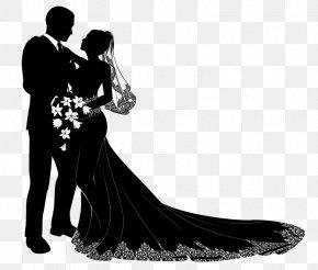 Wedding Couple - Wedding Invitation Marriage Clip Art PNG
