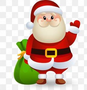 Christmas Santa Claus Vector Material - Santa Claus Christmas Clip Art PNG