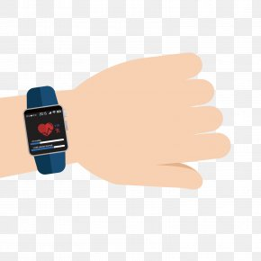 Vector Heartbeat Watch - Euclidean Vector PNG