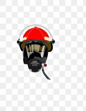 Fireman Face Cliparts - Firefighters Helmet Mask Clip Art PNG