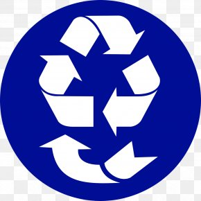 Recycling-symbol - Paper Recycling Symbol Decal Sticker PNG
