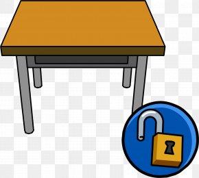 Desk - Table Desk Carteira Escolar Clip Art PNG