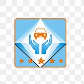 Blue Aftermarket Logo Free Button Material - Logo Clip Art PNG