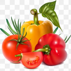 Vegetable Salad - Vegetable Fruit Chili Pepper Clip Art PNG