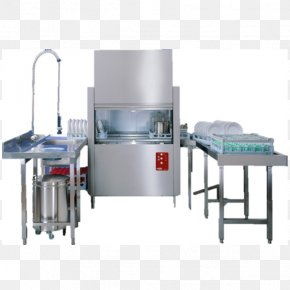 Kitchen - Dishwasher Conveyor System Dishwashing Manufacturing Washing Machines PNG