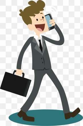 Vector Call Business Man - Telephone Call Business Telephone System PNG