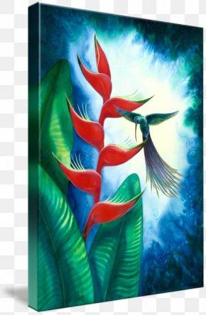 Watercolor Hummingbird - Watercolor Painting Drawing Art Acrylic Paint PNG