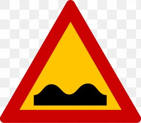 Traffic Signs - Car Speed Bump Traffic Sign Warning Sign Speed Limit PNG