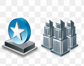 City Landmarks - Company ICO Business Building Icon PNG