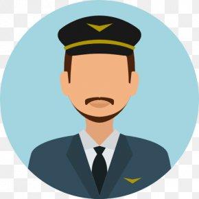 Pilot - Airplane 0506147919 Clip Art PNG