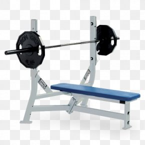Exercise Bench Clipart - Bench Press Fitness Centre Weight Training Barbell PNG