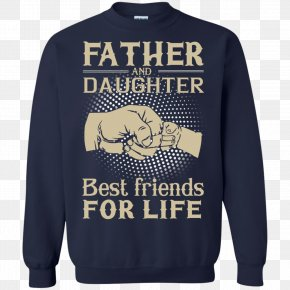 T-shirt - T-shirt Hoodie Father Sweater PNG