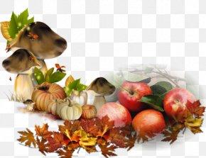 Apple Mushroom Buckle-free Material - Autumn Summer Season Clip Art PNG