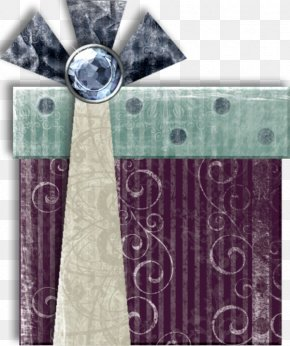 Purple Gray Striped Gift Boxes - Christmas Decoration Gift Christmas Stocking Valentines Day PNG