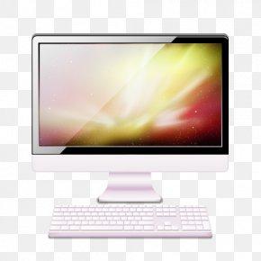 White Desktop Computer - Computer Monitors Laptop Computer Keyboard Desktop Computers Personal Computer PNG