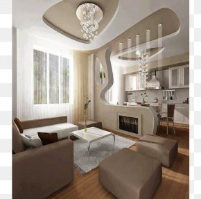 Advertising Decoration - Living Room Ceiling Interior Design Services House PNG