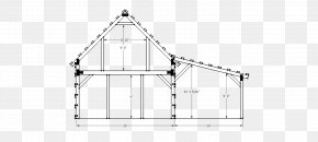 Barn - Barn House Plan Pole Building Framing PNG