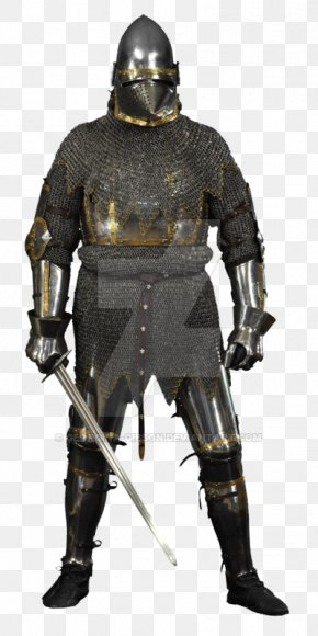 Knight Medieval - Middle Ages Knight Cuirass Components Of Medieval Armour Plate Armour PNG