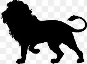 Lion - Lion Silhouette Cougar Clip Art PNG