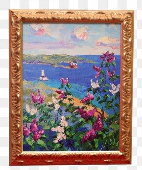 Wedding Arch Bridge - Modern Art Painting Still Life Picture Frames PNG