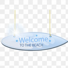Beach Tag Vector - Beach Tag Download PNG